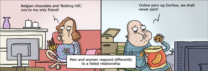 Комикс друг мужа